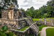Temples of the Cross Group at mayan ruins of Palenque - Chiapas, Mexico