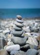 Pyramid of pebbles