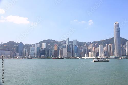 Photo  Skyline of Hong Kong