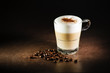 Leinwanddruck Bild Cappuccino coffee