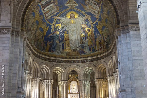 Photo  Interior of Basilica Sacre Coeur