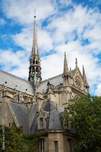 Staande foto Praag Notre Dame