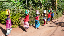 Women Carrying Water From The ...