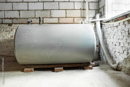 Photo  heating oil tank