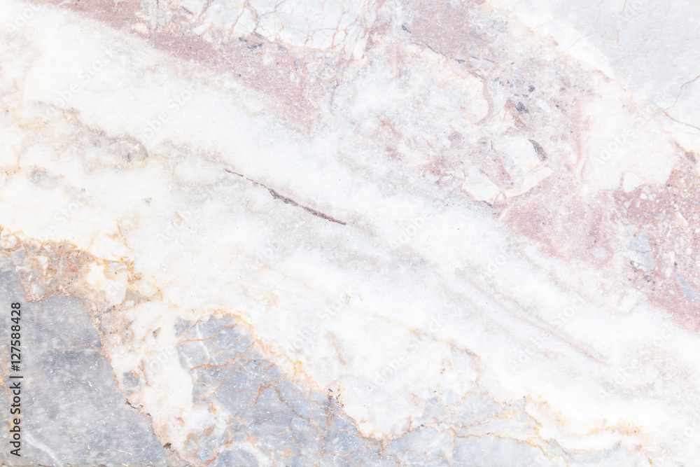 Fototapeta Gray light marble stone texture background
