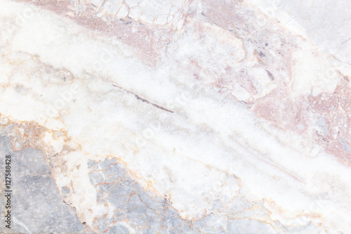 Gray light marble stone texture background Fototapeta