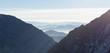 canvas print picture - blue horizon