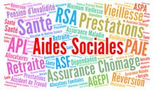 Aides Sociales En France Nuage...