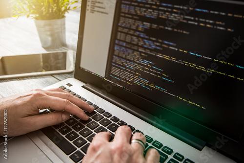 Pinturas sobre lienzo  coding code program compute coder develop developer development