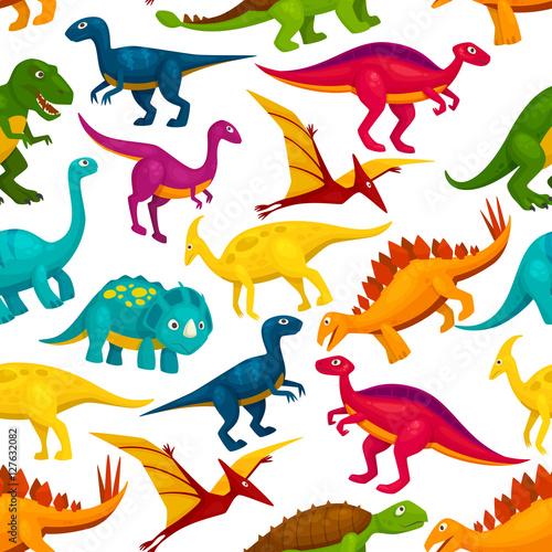 Dinozaur, jurajski potwór zwierzęcy wzór