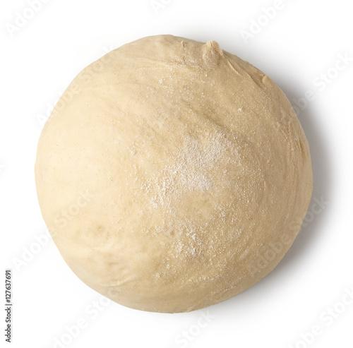 Fotografija fresh raw dough
