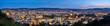 canvas print picture - Panorama Stuttgart