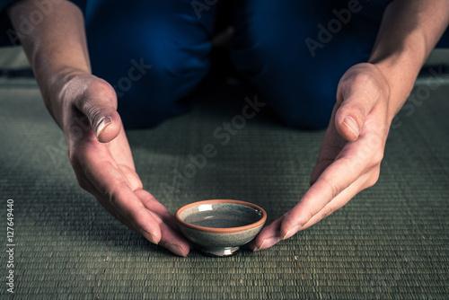 Fotografie, Obraz  杯と畳