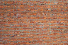 Texture Walls Of Red Brick. A ...