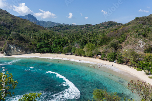 Foto op Canvas Indonesië Koka beach, Flores, Nusa Tenggara, Indonesia