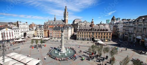 Lille (France) / Place du Général de Gaulle Canvas Print