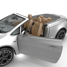 Convertible Sports Car Isolate...