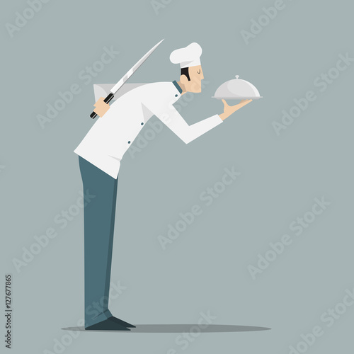 Fotomural The Traitor Chef