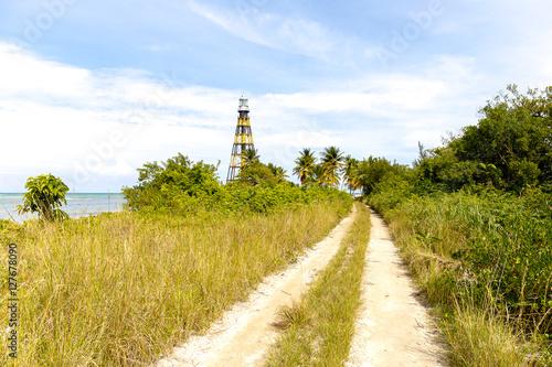Spoed Foto op Canvas Noordzee Leuchtturm bei Cayo Jutias