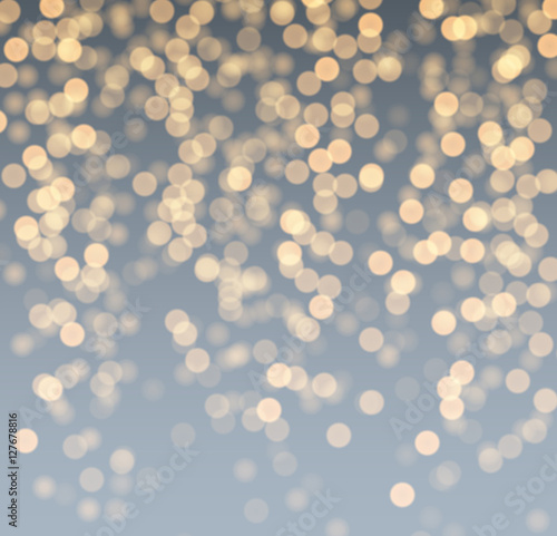 Fototapety, obrazy: Gray and golden luminous background.