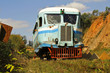 Rubber-tyred Michelin Train in Madagascar - Last in the world