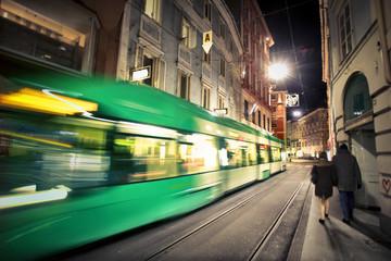 Noćni prijevoz u gradu