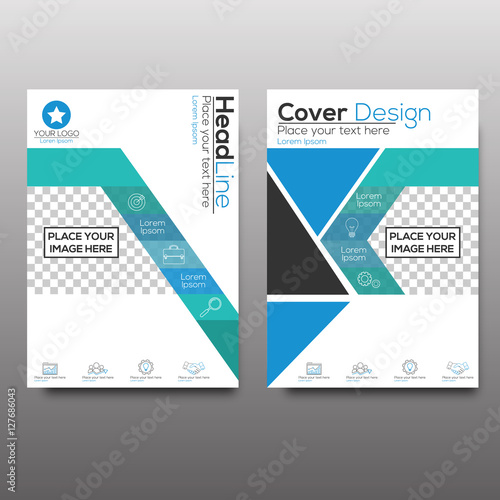 Set of corporate business stationery templates abstract brochure set of corporate business stationery templates abstract brochure design modern back and front flyer friedricerecipe Images