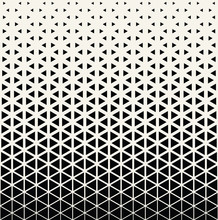 Abstract Geometric Black And W...