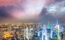 Midtown Manhattan Skyscrapers ...