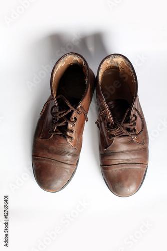Fototapeta leather shoes obraz na płótnie