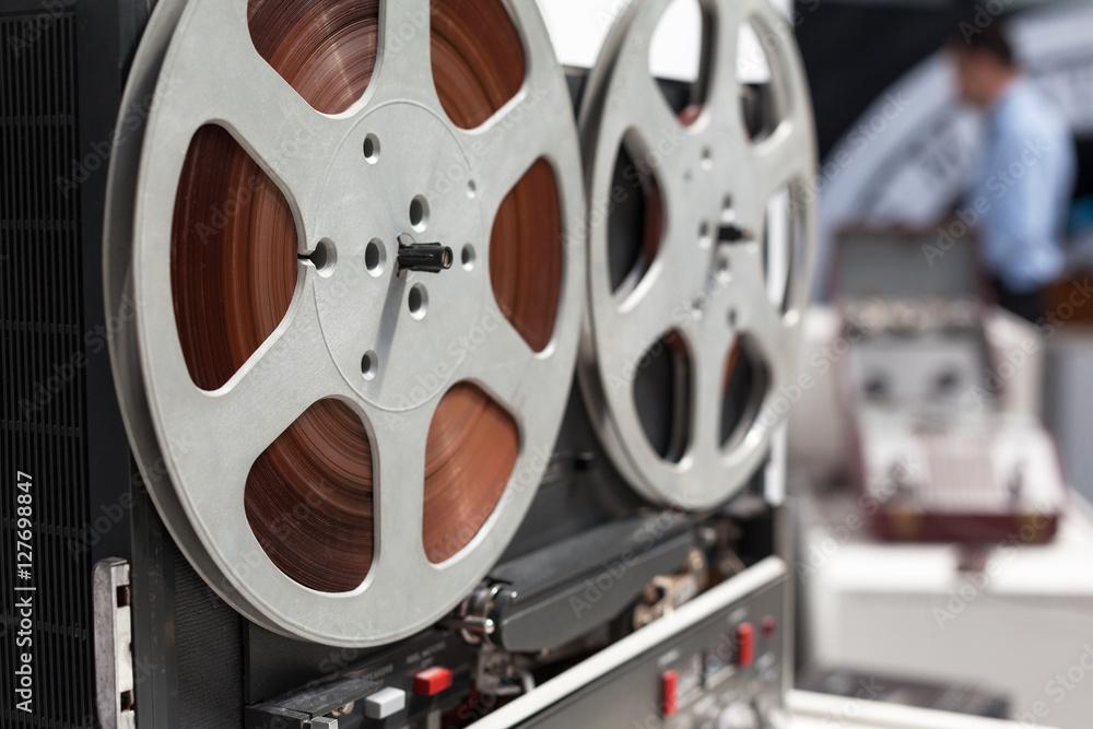 Fototapeta Tape recorder