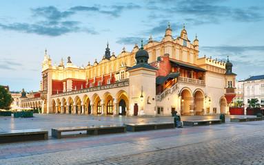 Panel Szklany Kraków Krakow Market Square, Poland