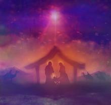 Biblical Scene - Birth Of Jesu...