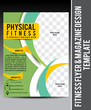 Fitness Flyer & Magazine Design Template