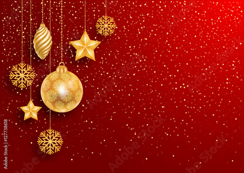 Fotografía  Festive Christmas Background