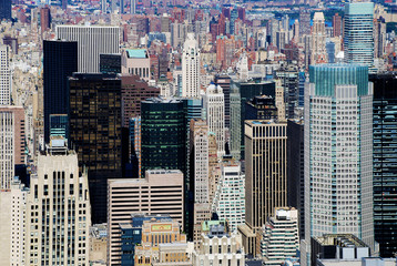 Skyscraper in Manhattan, New York