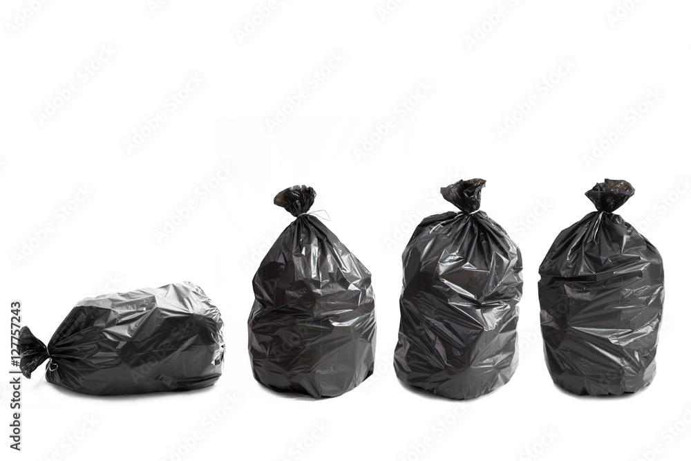 Fototapeta Quattro borse della spazzatura