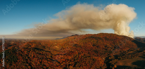 Staande foto Texas Wildfire breaks out in Tennessee.JPG