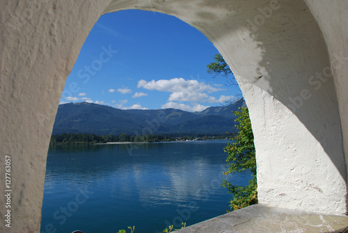 Wolfgangsee St Canvas Print