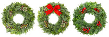 Christmas Wreath Pine Spruce T...