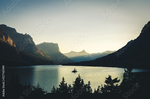 Valokuva  Wild Goose Island, Glacier National Park