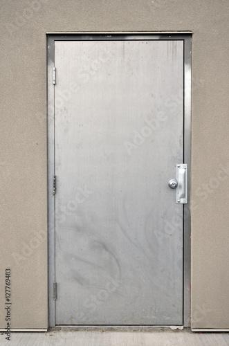 Photo Steel Industrial Door