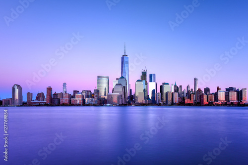 Staande foto New York New York Skyline