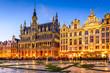 canvas print picture - Bruxelles, Belgium - Grand Place