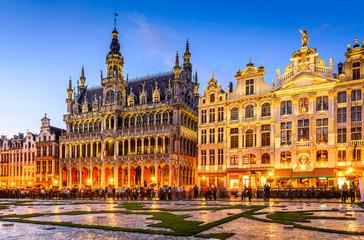 Fototapeta Bruxelles, Belgium - Grand Place