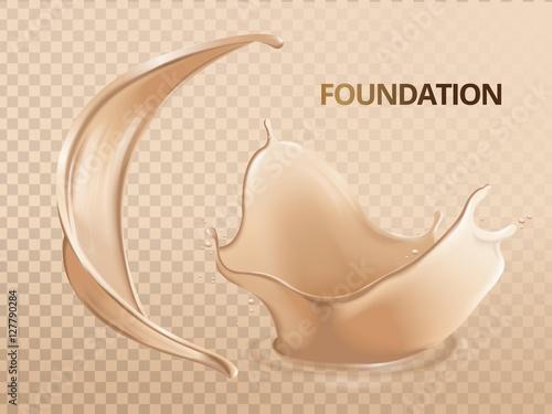 Fotografía  Elegant foundation effects