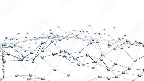 Plakaty koncepcja sieci na białym tle