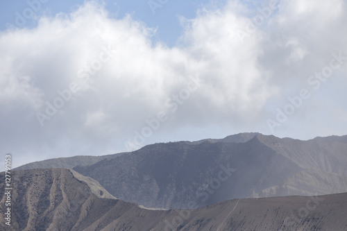 General landscape around Mt Bromo, Indonesia Canvas Print