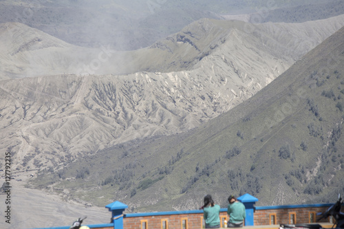 Photo  general landscape surround Mt Bromo, Indonesia