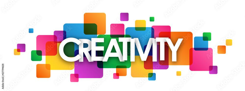 """Fototapety, obrazy: """"CREATIVITY"""" Abstract"""